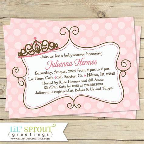pink princess baby shower invitation princess baby shower invite princess printable