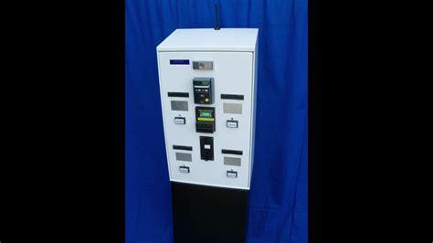 Turn on and off ingenico card swipe machine. Model 5004 Card or Ticket Dispenser & Bank Credit Card Vending Machine - YouTube