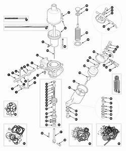Su-h6 Carburetor Internal Parts  Tr3 Bis Tr4