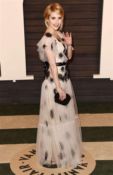 Emma Roberts Vanity Fair Oscar Party Gotceleb