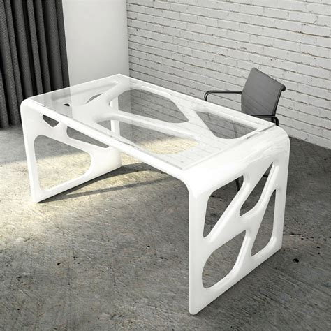 scrivanie di design scrivania design in adamantx 174 illa made in italy