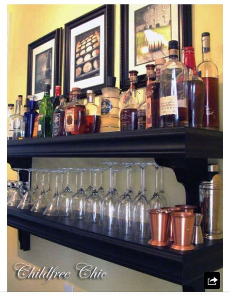 Home Bar Shelves by 1000 Images About Home Bar Shelving Ideas On
