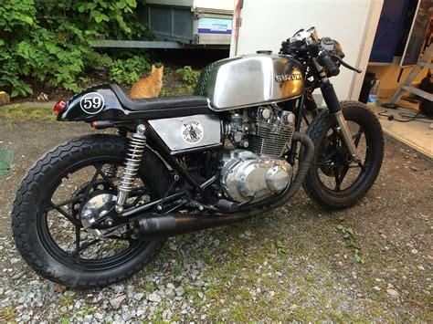 cafe racer suzuki gs 450 1981 motorcycle builds suzuki cafe racer cafe racer build