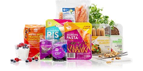 A healthy product range