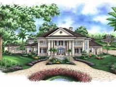 Plan 037H 0080 Find Unique House Plans Home Plans And Floor Plans House Plans Southern Colonial Style House Plans 1785 Square Foot Home 1 Story Southern Colonial
