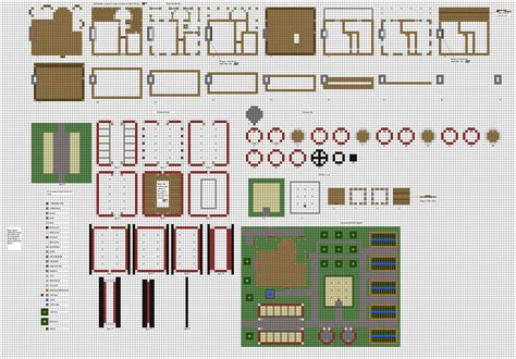 minecraft survival house floor plans reworked farm 1 by coltcoyote deviantart on
