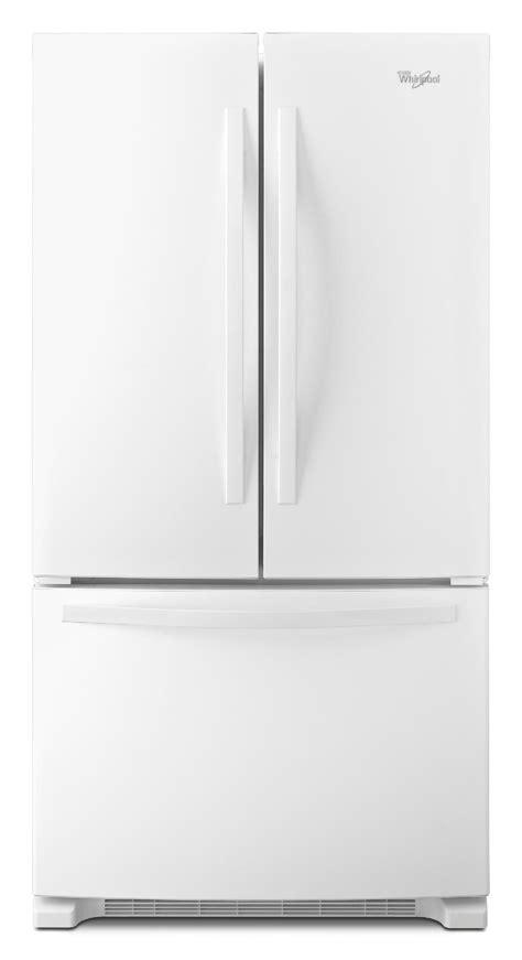 white door refrigerator whirlpool wrf535smbw 25 cu ft door