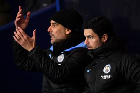 Arsenal DID hold talks with Manchester City over Mikel Arteta