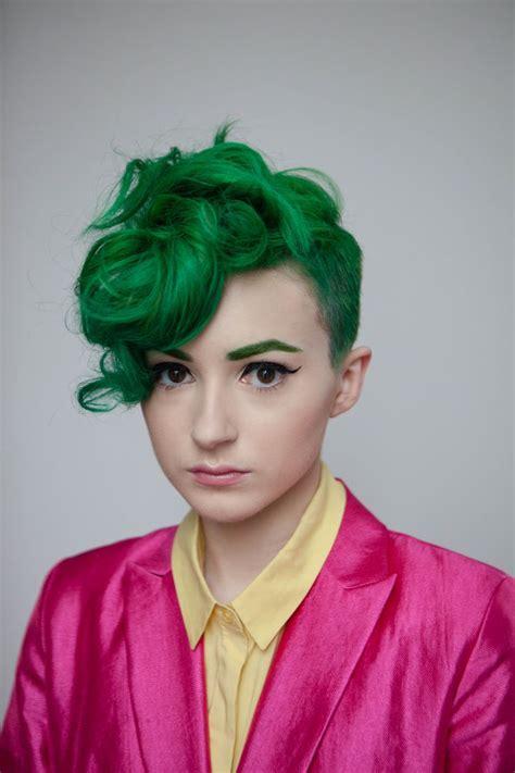 17 Best Ideas About Green Hair On Pinterest Emerald Hair