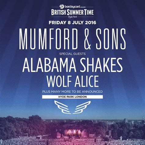mumford sons ticketmaster mumford sons confirmed for barclaycard presents bst in
