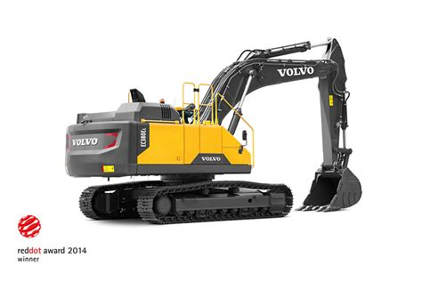guldregn oever volvo construction equipment vid red dot