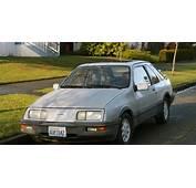 OLD PARKED CARS 1986 Merkur XR4Ti
