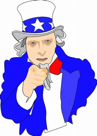 Uncle Sam Clipart Want Clip Pointing Hat
