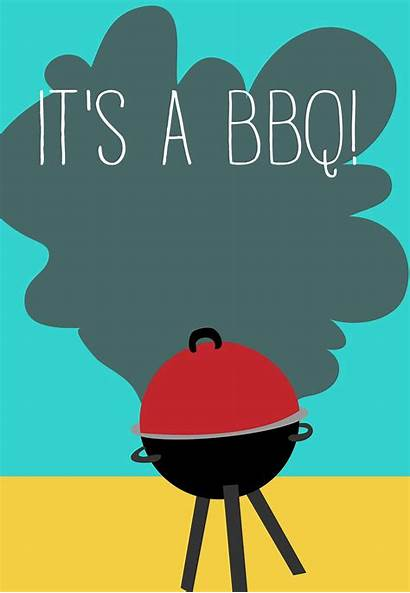 Party Invitation Bbq Printable July 4th Grilling
