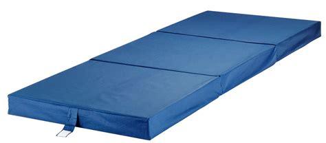 portable folding bed vouwmatras 70x190 plus f10 blauw jysk