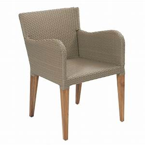 Contemporary kubu and teak rattan outdoor dining chairs uk for Outdoor dining chair