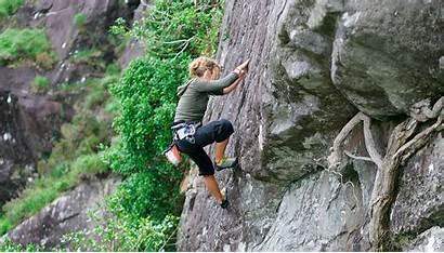 Climbing Rock Ireland Gap Mountain Dunloe