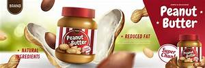 peanut butter poster template vector 02 free download