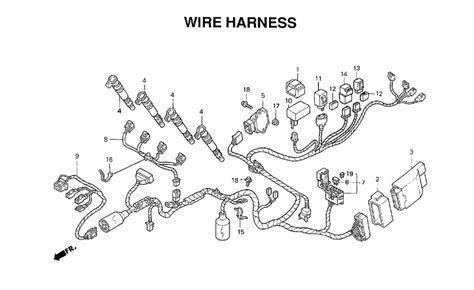 Wiring Harness Honda Cbr Auto