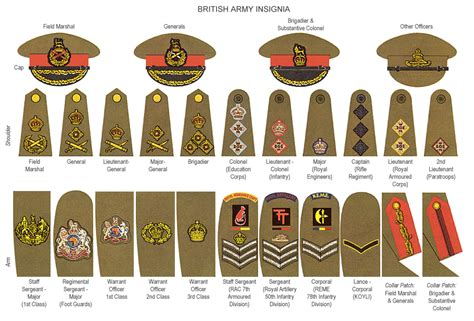 Or Ranks British Army Her Majesty S Services A Brief Guide To British Armed