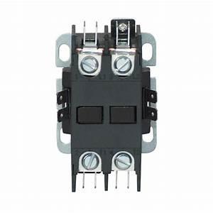 Eaton 40 Amp 110-volt  120-volt Definite Purpose Control Contactor-c25bnf240a
