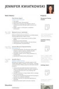 resume exles for realtors real estate resume sles visualcv resume sles