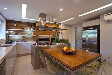 muebles de cocina en madera modernos  acero