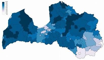 Latvian Language Municipalities Primary Cities Svg Wikipedia