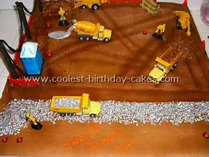 Coolest Construction Cake Photos - Web's Largest Homemade