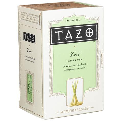 Tazo Zen Tea Lady
