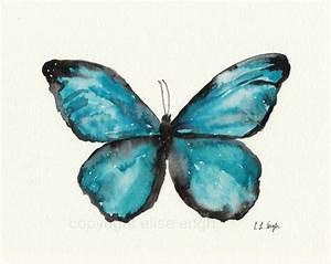 Grow Creative Blog: Watercolor Butterflies