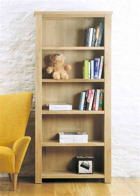 collection  contemporary oak bookcase