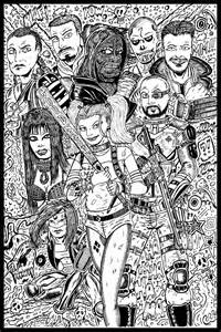 Suicide Squad Drawings