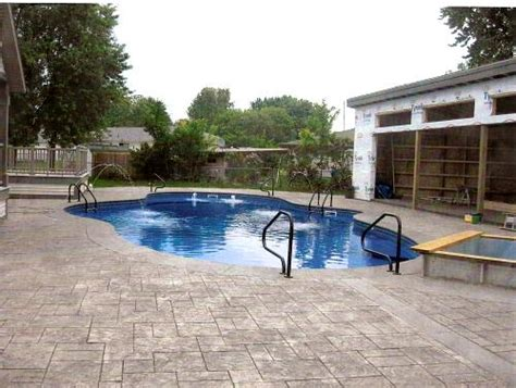 pictures for pool patio custom swimming pool