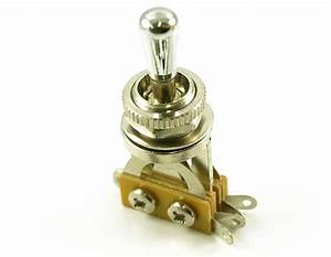 Charvel  Les Paul Chrome Brass Tip 3 Way Toggle Switch