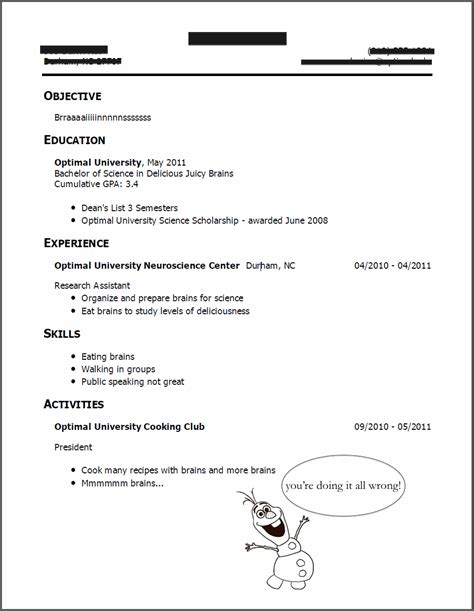 What Not To Include On A Resume by Update 3952 What To On Your Resumes 31 Documents Bizdoska