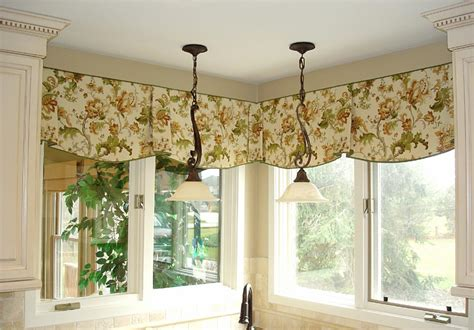 Gorgeous Kitchen Window Valances Variation