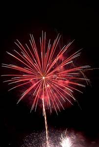 Photo of Red firework rocket | Free christmas images