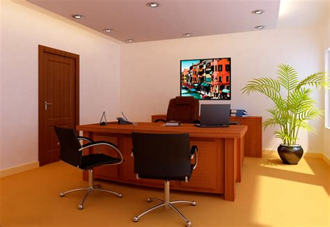 Office Room : Interior Design And Furnishing For Office