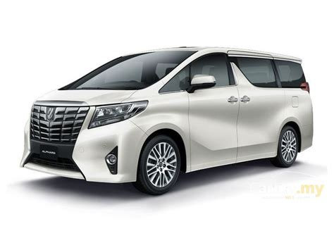 Toyota Sienta Backgrounds by Toyota Alphard 2017 3 5 In Selangor Automatic Mpv Silver