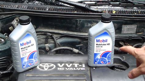 What Is Good Gearbox Oil To Toyota Corolla Manual Gearbox