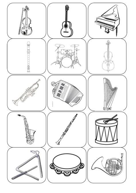 therapiematerial zum thema musikinstrumente