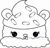 Coloring Licorice Lulu Num Noms Pages Coloringpages101 sketch template