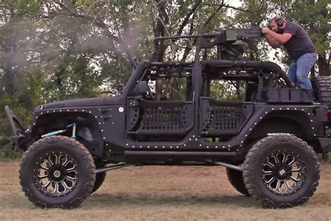 Custom Starwood Jeep With 50 Cal On Top Will Blow