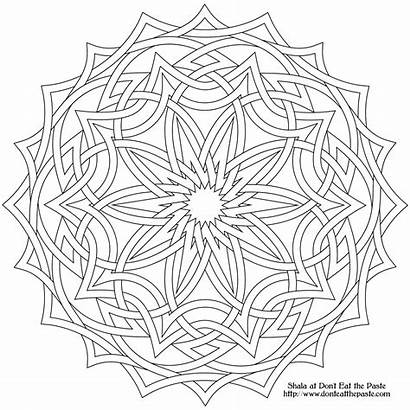 Coloring Pages Intricate Adult Popular