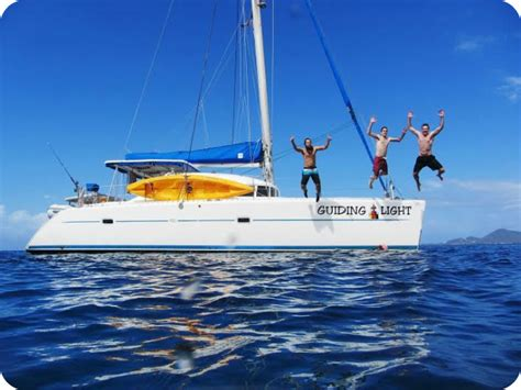 Catamaran Charters Bvi Cost by Bvi Yacht Charter With Captain Only Visailing