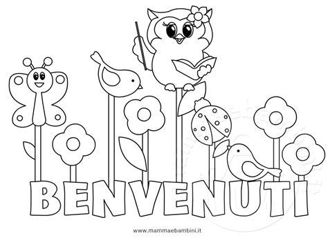 immagini buongiorno x bambini disegno da colorare per primo giorno di scuola mamma e