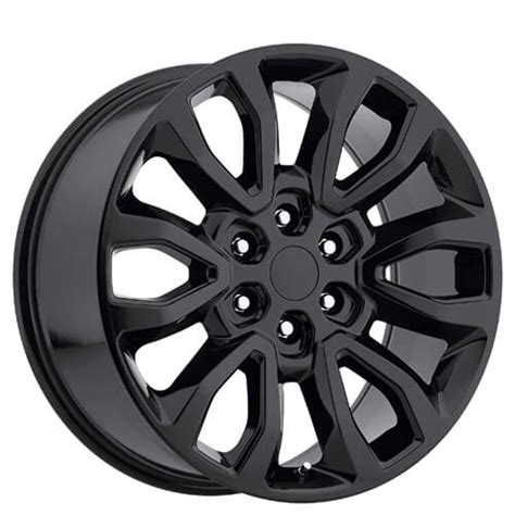 ford  raptor wheels gloss black oem replica rims