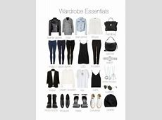 Must Have Wardrobe Essentials Fashion Cloud