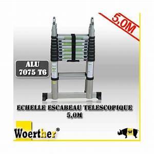 Echelle Telescopique 6 M : echelle telescopique 5m ~ Dailycaller-alerts.com Idées de Décoration